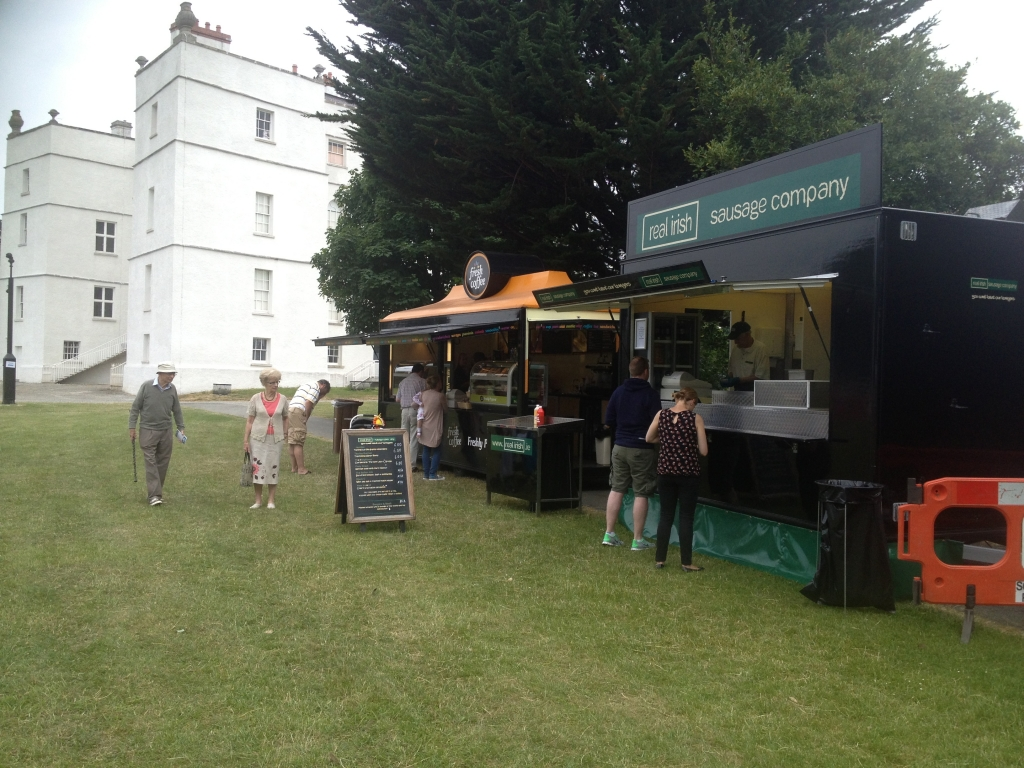 Mobile Catering Ireland with Real Irish